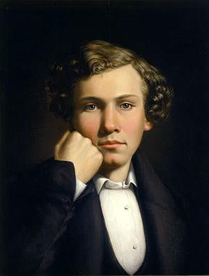 William Ranney - 1839 self-portrait