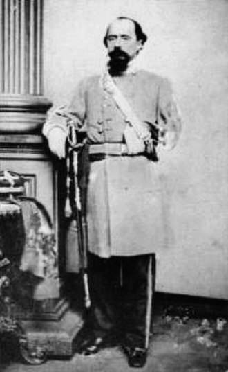 3rd Cavalry Regiment (United States) - William W Loring who lost an arm in the Mexican–American War with the Mounted Rifleman; seen here as a CSA General