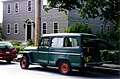 Willys Jeep Wagon green in yard maintenance use.jpg