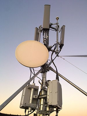 Mobile WiMAX base station aerial