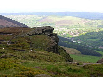 Chew Valley, Greater Manchester - Image: Wimberry Rocks geograph.org.uk 1070701