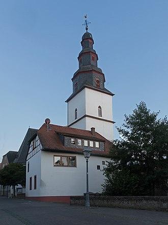 Nidderau - Image: Windecken, die Stiftskirche Windecken positie 2 poging 2 foto 7 2016 08 10 20.45