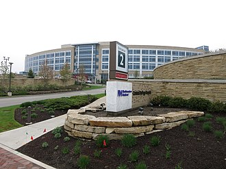 Winfield, Illinois - Image: Winfield IL Central Dupage Hospital