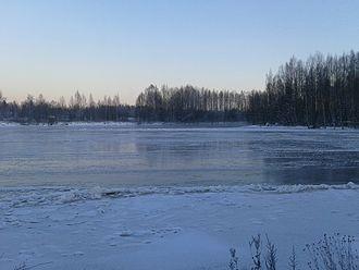 Kokemäki - Image: Winter River