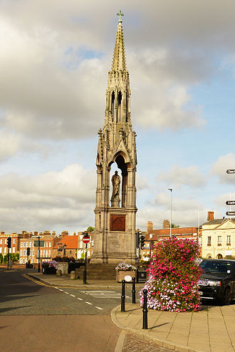 Wisbech - The Thomas Clarkson Memorial in Wisbech 2013