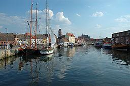 Den gamle havn i Wismar.