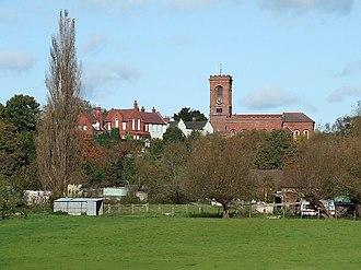 Wolverley - Image: Wolverley village, Worcestershire geograph.org.uk 1025168
