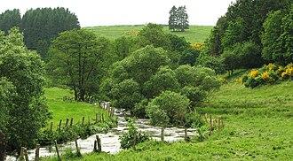 Wiltz (river) - Image: Wolz bei Schëmpech
