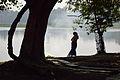 Woman - Santragachi Lake - Howrah 2013-01-25 3602.JPG
