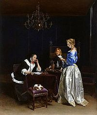 Woman Reading a Letter 1660-1662 Gerard ter Borch II.jpg