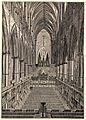 Wood engraving; Westminster Abbey Wellcome L0023916.jpg