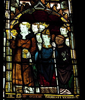 Worfield - Image: Worfield St Peter's stained glass 01