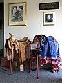 World Horse Welfare headquarters - saddles on display - geograph.org.uk - 1762481.jpg