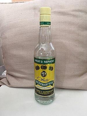 J. Wray and Nephew Ltd. - Image: Wray & Nephew White Overproof Rum