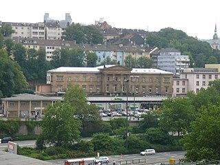 Wuppertal Hauptbahnhof railway station in Germany