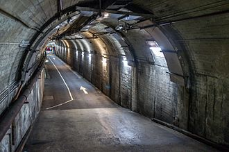 Wynyard railway station, Sydney - Former Tram Tunnels leading to disused Platforms 1 and 2
