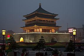 Klokketårnet i Xi'eren.