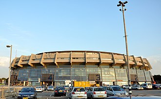 2003–04 Euroleague - The Final Four was held at the Nokia Arena in Tel Aviv