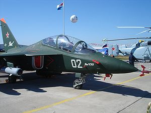 Yakovlev Yak-130 - Yak-130 at MAKS 2005 air show