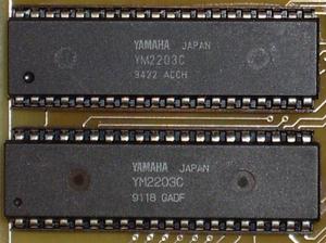 Yamaha YM2203 - Yamaha YM2203