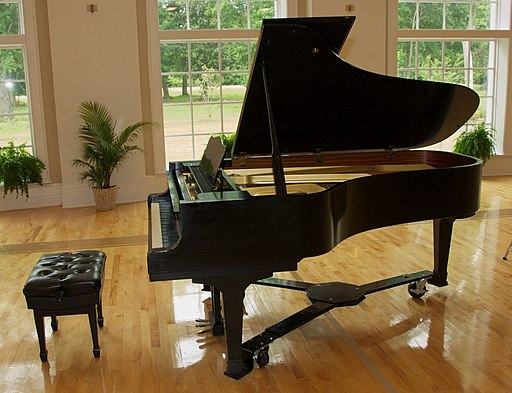 Yamaha grand piano, Piano Recital 2012
