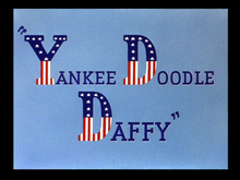 Description de l'image  Yankee Doodle Daffy title card.png.