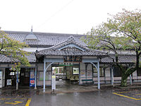 Yoro Station building 2013-10-20.jpg