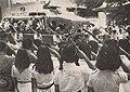 Young girls paying respect to Sudirman, Kenang-Kenangan Pada Panglima Besar Letnan Djenderal Soedirman, p16.jpg