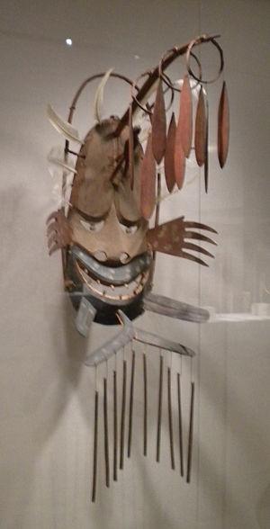 Negafook - Negafook (negeqvaruaq in Central Yup'ik) depicted in a Yup'ik mask