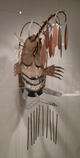 Negafook - Negafook (negeqvaruaq in Central Yup'ik) depicted in a Yup'ik mask