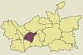 Zawiercie Zabki location map.png