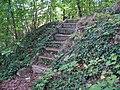 Zbraslav, schody na úbočí Havlína.jpg