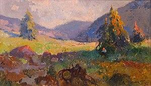 Zefiryn Ćwikliński - Image: Zefiryn Ćwikliński Łąka w górach