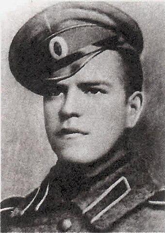 Унтер-офицер Георгий Жуков, 1916 год
