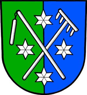 Hostašovice - Image: Znak obce Hostašovice