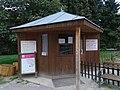 Zoo Praha, dětská tramvaj, pokladna.jpg