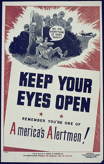 """Keep Your Eyes Open"" - NARA - 513956"