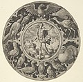 'Aer' in a Decorative Border with Birds, from a Series of Circular Designs with the Four Elements MET DP837383.jpg