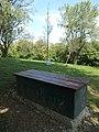 'Hope' bench and memorial tree, Szent Erzsébet Park, 2018 Balatonboglár.jpg