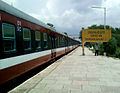 (Medchal - Falaknuma) DEMU Local at Dayanandnagar 01.jpg