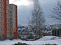 «Paŭnočny Pasiolak» district in the winter. - panoramio.jpg