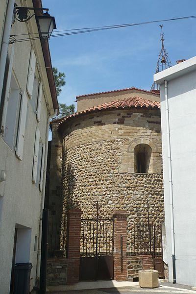 Abside de l'église Notre-Dame-des-Anges à Cabestany