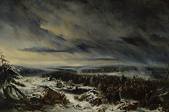 Nicolas Toussaint Charlet - An Episode from the Russian Campaign