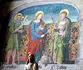 Überlingen Münster - Fresko Heilige.jpg