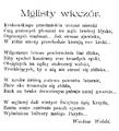 Życie. 1898, nr 12 (19 III) page02 Wolski.png