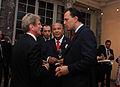 Ο ΥΠΕΞ κ.Δ.Δρούτσας με τον ΥΠΕΞ της Γαλλίας κ.Β.Kouchner στο περιθώριο Δεξίωσης για την Γαλλοφωνία που έγινε στη Νέα Υόρκη. (5024105722).jpg
