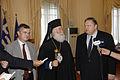Συνάντηση Αντιπροέδρου της Κυβέρνησης και ΥΠΕΞ Ευ. Βενιζέλου με τον Πατριάρχη Αλεξανδρείας Θεόδωρο Β' (9245608239).jpg