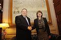 Συνάντηση Αντιπροέδρου της Κυβέρνησης και Υπουργού Εξωτερικών Ευ. Βενιζέλου με Υπουργό Εξωτερικών της Γεωργίας M. Panjikidze (13958853366).jpg
