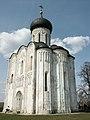 Боголюбово, церковь Покрова на Нерли, ю-в, 07.05.2004 - panoramio.jpg