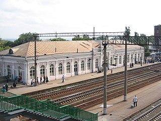 Chertkovo railway station